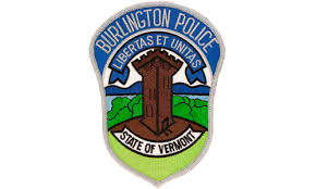 Burlington police sleeve badge