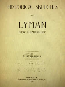 Historical Sketches of Lyman